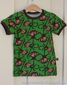 t-skjorte med aper