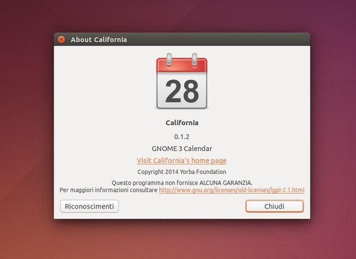 California 0.1.2 info