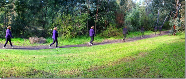 Walking multi-exposure created with autostitch