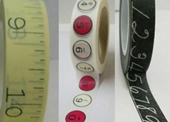 Number Washi Tape Set
