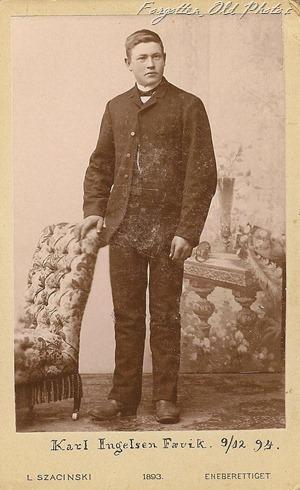 Karl Ingelson Favik 9 12 1894 CDV DL Antiques