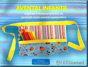 Avental Infantil 01