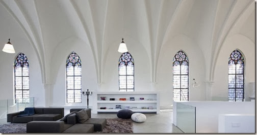Gothic-Church-Turned-into-White-Contemporary-Home-in-2009-Book-Rack-800x421