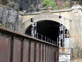 Train Tunnel Underneath the Overlook