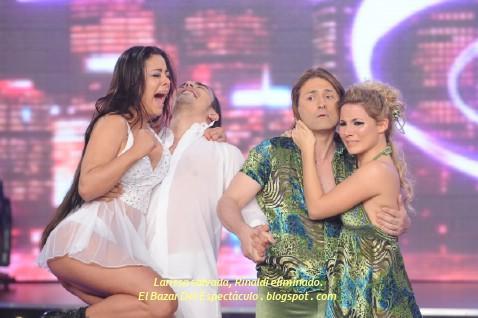 Larissa salvada, Rinaldi eliminado..JPG