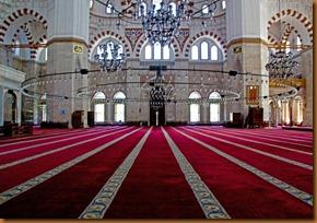 Istanbul, carpet SM mosque