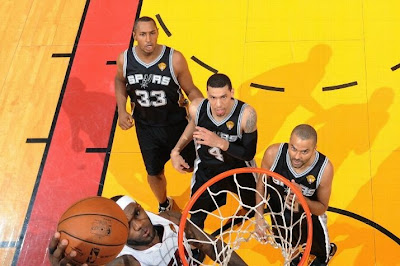 lebron james nba 140612 mia vs sas 19 game 4 Spurs Win Two Straight in Miami. Lead the Series 3 1.