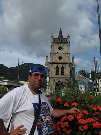 St. Lucia: Soufriere church