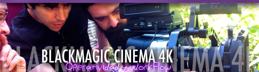 WorkShop BlackMagic Cinema 4K