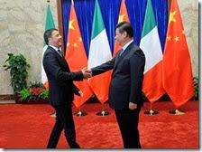 Matteo Renzi in Cina