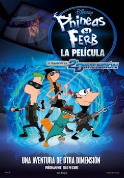 Poster de Phineas Y Ferb: A Traves De La Segunda Dimension