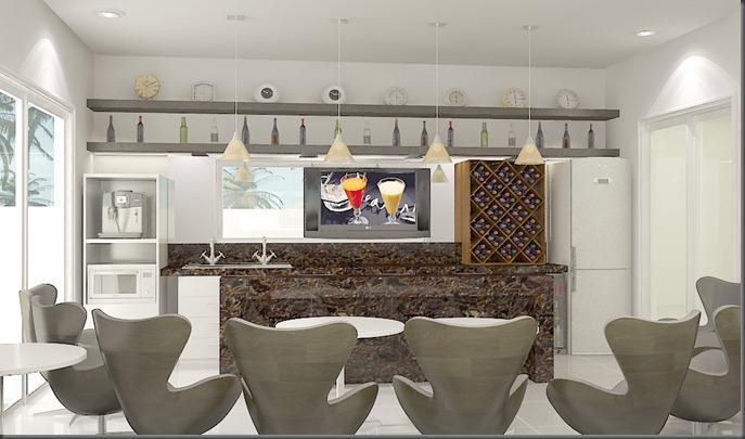 Interiores - bar