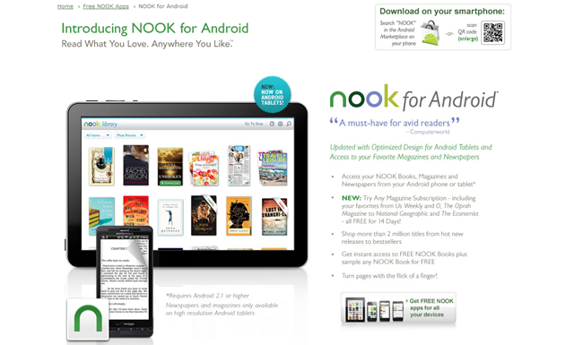 Free NOOK app for Android, Download eReader app - Barnes & Noble