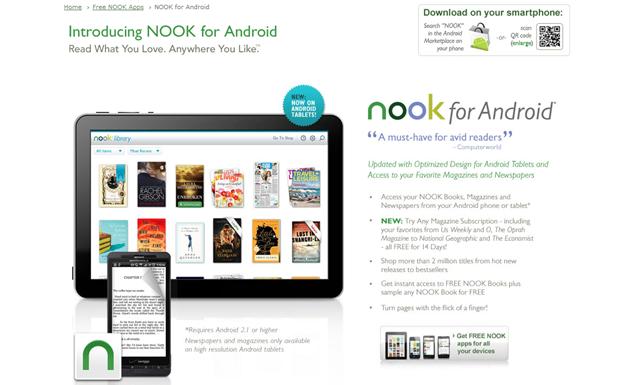 Free NOOK app for Android, Download eReader app - Barnes&Noble