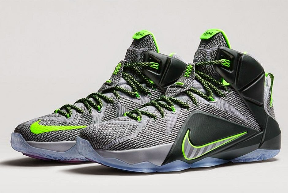 ... Nike LeBron 12 8220Dunk Force8221 Official Look and Release Information  ...