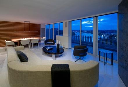 Esta vivienda de departamento de lujo de 1 250 metros cuadrados se