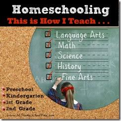 how i teach homeschool 1st Grade