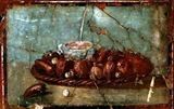 Fresco de Pompeya - Bodegn con higos