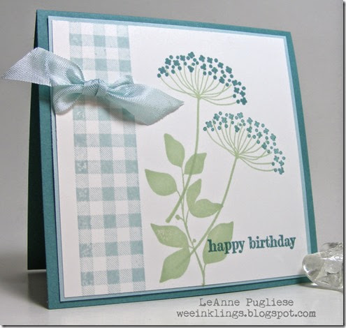 LeAnne Pugliese WeeInklings Summer Silhouettes Stampin Up Something to Say
