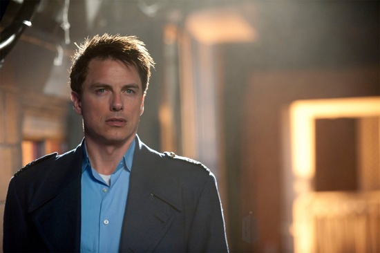 John Barrowman is Captain Jack Harkness