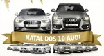 Natal dos 10 Audi no Salvador Shopping
