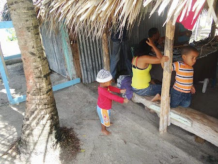 Republica Dominicana: Dominicani in Isla Saona