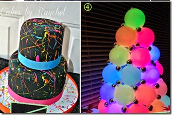 neon birthday party