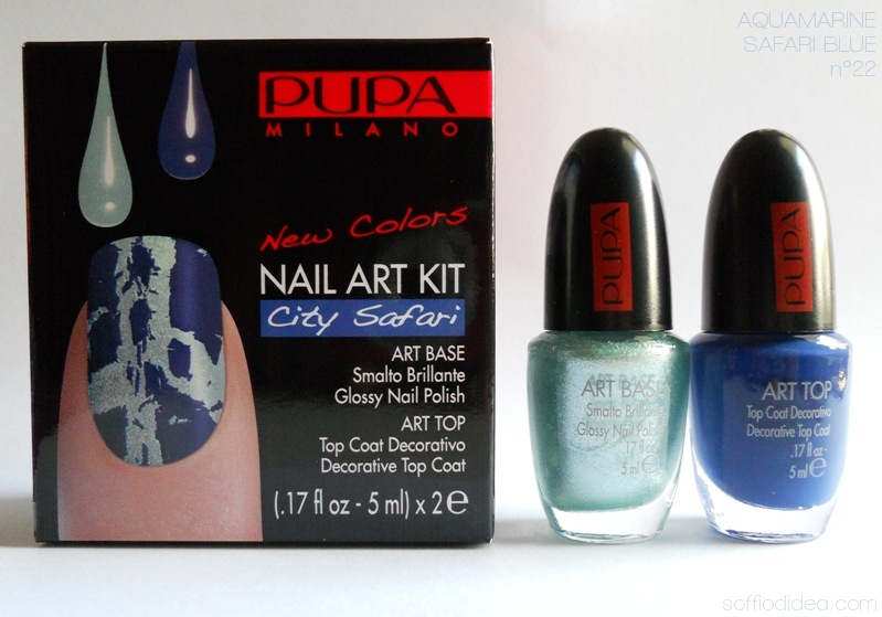 PUPA NAIL ART KIT safari 9