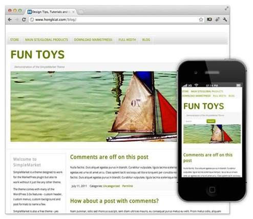 simple-market-theme-wordpress