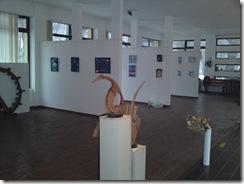 Expozitia Univers Eminescian din Herastrau picturi cu teme spatiale eminesciene de Corina Chirila