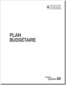 Québec - Plan budgétaire 2012