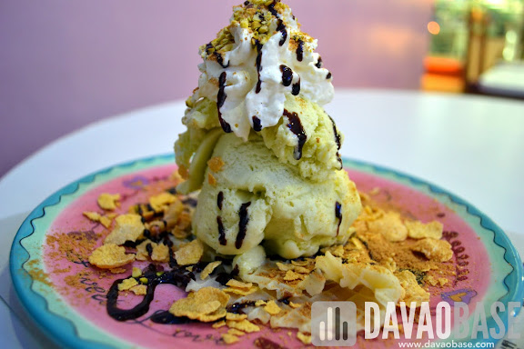 Avocado Nutty Moringa Crepelato: avocado, nuts and malunggay!