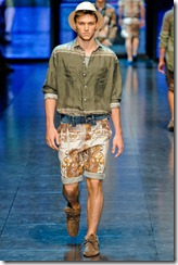 D&G Menswear Spring Summer 2012 Collection Photo 22