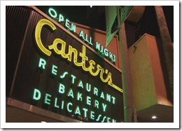 Canters Los Angeles open all night