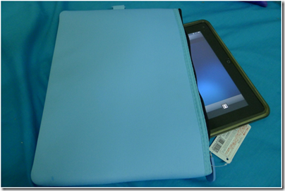 baby blue soft case for iPad