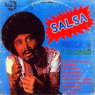 Julian Y Su Combo  Salsa Lp  F