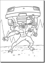 desenhos para colorir do Ben 10 quatro braços