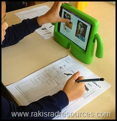 Getting kids to enjoy reading is the most important step to creating life long readers.  Find 10 tips getting kids to enjoy reading.  Heidi Raki of Raki's Rad Resources - Encouraging kids to read on an e-reader