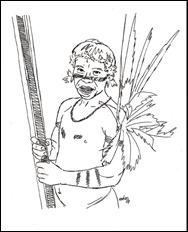 Yanomami Man Warrior