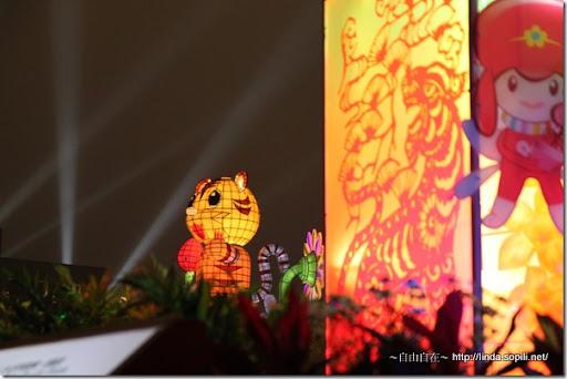 2010台北燈節(台北燈會)-遠拍福氣虎Ho Ki