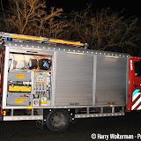 Oefening brandweer Nieuwe Pekela bij de Kiepe - Foto's Harry Wolterman