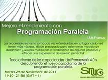 Mejora el rendimiento con Programación Paralela