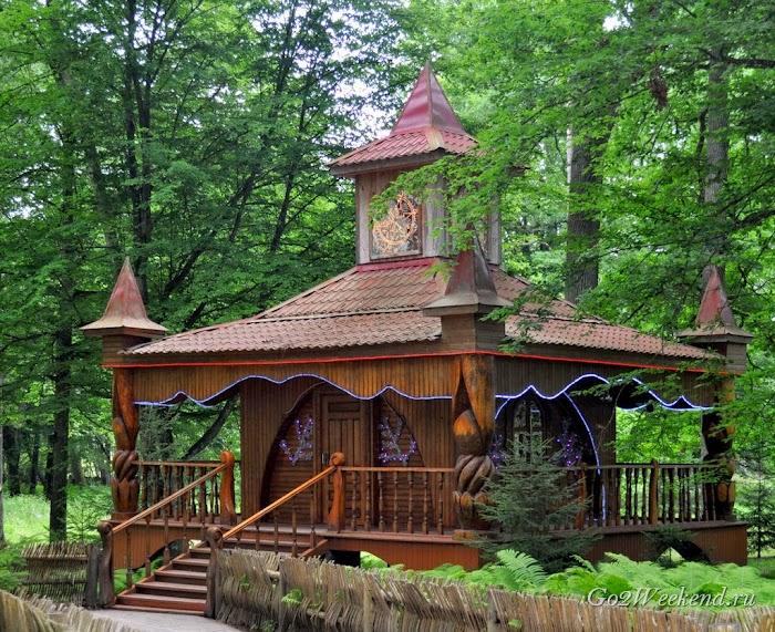 Резиденция Деда Мороза Беловежская пуща
