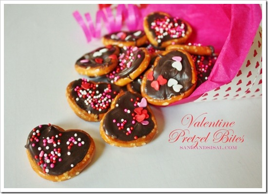 Valentine Pretzel Bites - by Sand &#038; Sisal