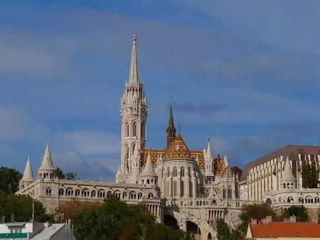 Europa Centrala: Biserica Matei Corvin Budapesta