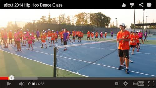 allout 2014 Hip Hop Dance Class