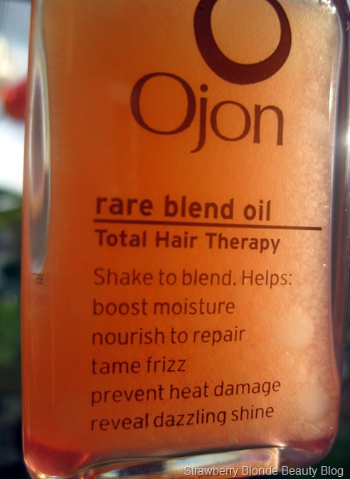 Ojon Rare Blend Oil