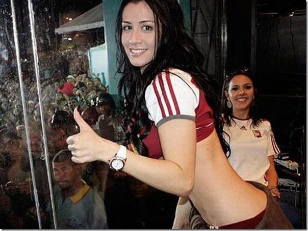 Diosa Canales modelo venezuelana na Copa América (3)