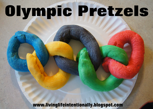 Homemade Pretzel Recipes - Sensory Fun for Preschoolers learning the alphabet