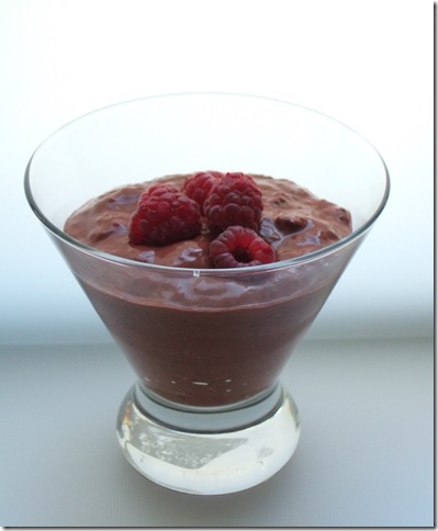 raspberry pudding 008